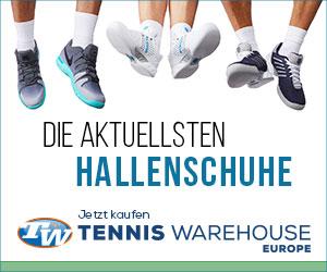 Tennis Warehouse Europe Hallenschuhe