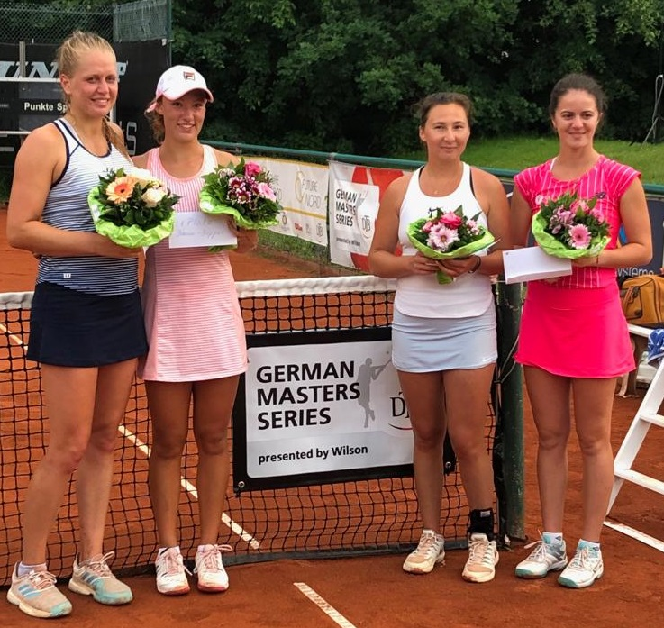 Future Damen Doppel Siegerinnen